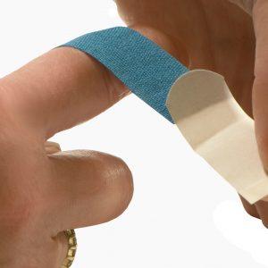 Blue First Aid Supplies